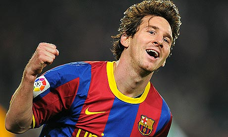 lionel messi 2011 barcelona. Lionel Messi celebrates