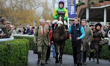 Kauto Star after the King George VI Chase Kempton