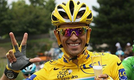 Alberto Contador could face a two-year ban.