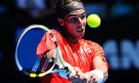 rafael nadal 2011 australian open. Rafael Nadal was in dominant