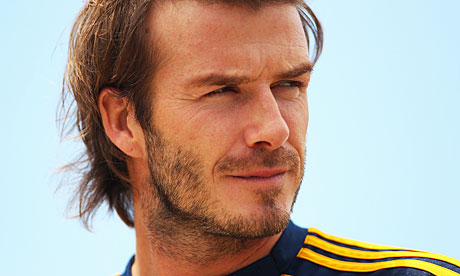 LA Galaxy midfielder David Beckham