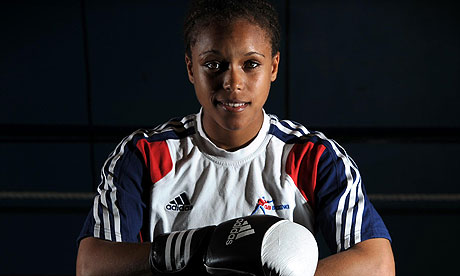 Natasha Jonas is one of seven female boxers competing for three places in Britain's Olympic team