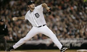 Detroit Tigers starting pitcher Justin Verlander