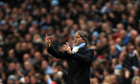 Roberto Mancini is under pressure, despite his Manchester City side's success this season