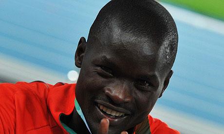 Abel Kirui retain his world marathon title in Daegu last month