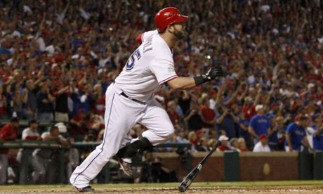 Texas Rangers' Mike Napoli
