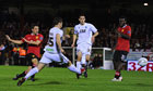 Manchester United's mix of old and new sink Aldershot in Carling Cup
