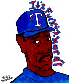 World Series: Ron Washington artwork