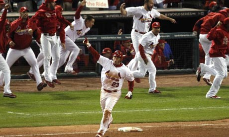 World Series 6: David Freese wins game