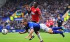 Everton. Manchester United