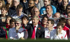 Arsène Wenger watches Arsenal beat Chelsea