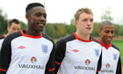 England football training
