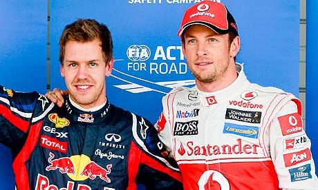 Gp Austin: Jenson Button e Sebastian Vettel Penalizzati