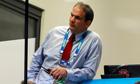 The England coach, Martin Johnson, faces an uncertain future