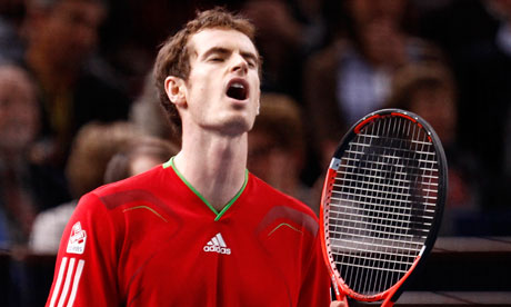 Andy Murray beaten in three sets by Tomas Berdych in Paris Masters
