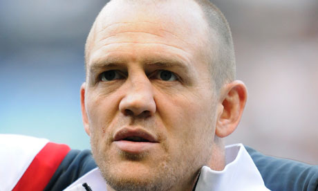 Mike Tindall, England rugby player