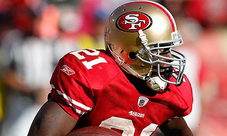 Frank Gore has rushed for 100 yards or more in each of the San Francisco 49ers' last five games