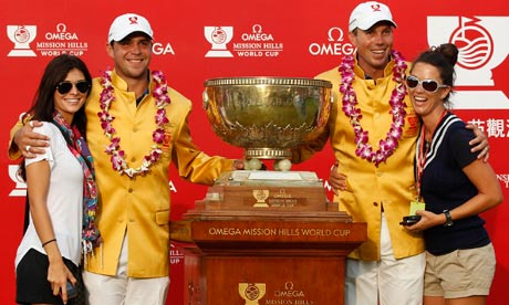 Matt Kuchar and Gary Woodland win World Cup for USA at Mission Hills