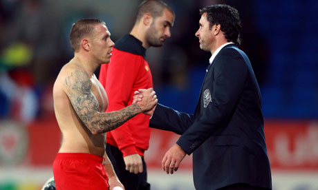 Gary Speed and Craig Bellamy