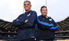 Nick Mallett, left, and Wayne Smith will coach at Twickenham this weekend
