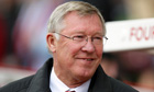 The Manchester United manager, Sir Alex Ferguson, does not like talking about retirement