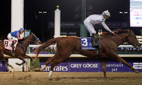 Drosselmeyer wins the Breeders' Cup Classic