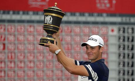 German Martin Kaymer wins WGC-HSBC Champions