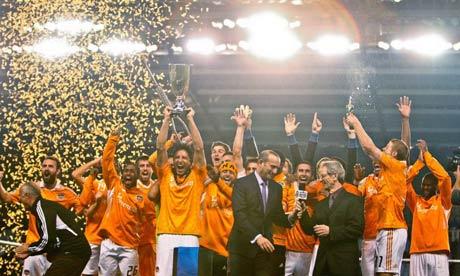 Houston Dynamo celebrate