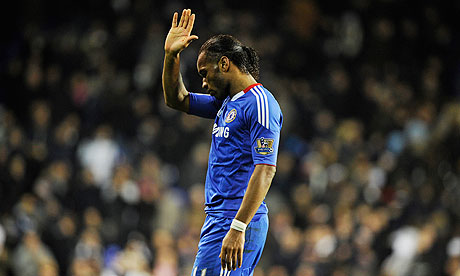 Is Didier Drogba ready to wave goodbye to Chelsea?