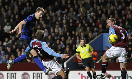 Phil Jones. Manchester United. Aston Villa