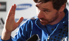 André Villas-Boas makes his point at a Chelsea press conference