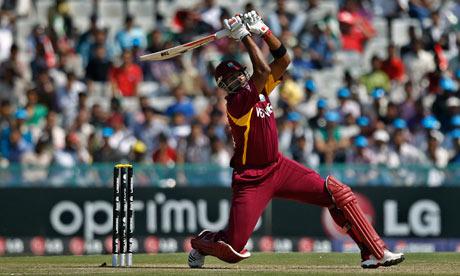 The West Indies batsman Kieron Pollard