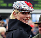Zara Phillips at Day Two of Cheltenham