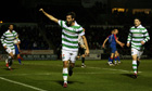 Joe Ledley scores twice as Celtic come from behind to beat Inverness