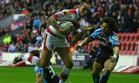 Gareth Hock wigan warriors