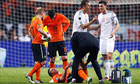Robin van Persie could be fit to face Blackburn despite thigh injury