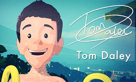 The animated Tom Daley