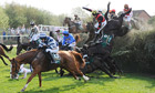 Becher's Brook at the 2011 Grand National