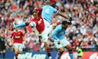 Manchester City. Manchester United. FA Cup Semi Final