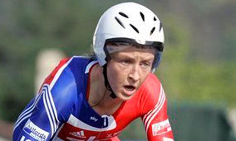 Emma Pooley cycling