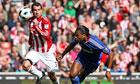 Stoke's Jonathan Walters makes Chelsea's slim title hopes vanish