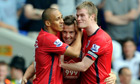 Peter Odemwingie, Chris Brunt, Simon Cox
