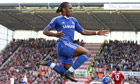 Didier Drogba argues with fan as Stoke stymie Chelsea's title charge
