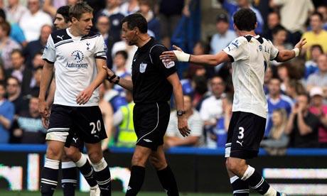 Gareth Bale, Michael Dawson, Andre Marriner