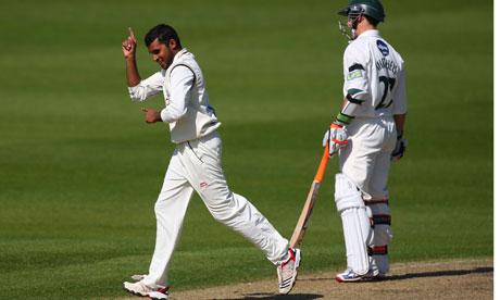 Worcestershire v Yorkshire - Adil Rashid