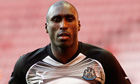 Sol Campbell and Newcastle United part company