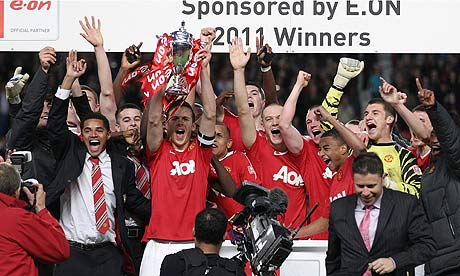 Man United FAYC winning team of 2010/11