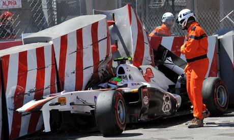 monaco grand prix 2011 crash. Qualifying at the Monaco Grand