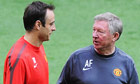Dimitar Berbatov, Sir Alex Ferguson, Manchester United
