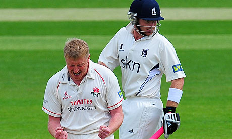 Glen Chapple does for Ian Bell